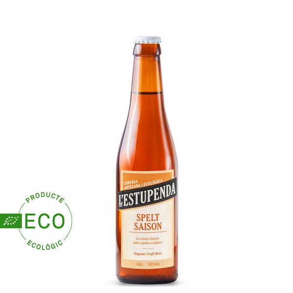 Cerveza Artesana Ecológica l'Estupenda Spelt Saison