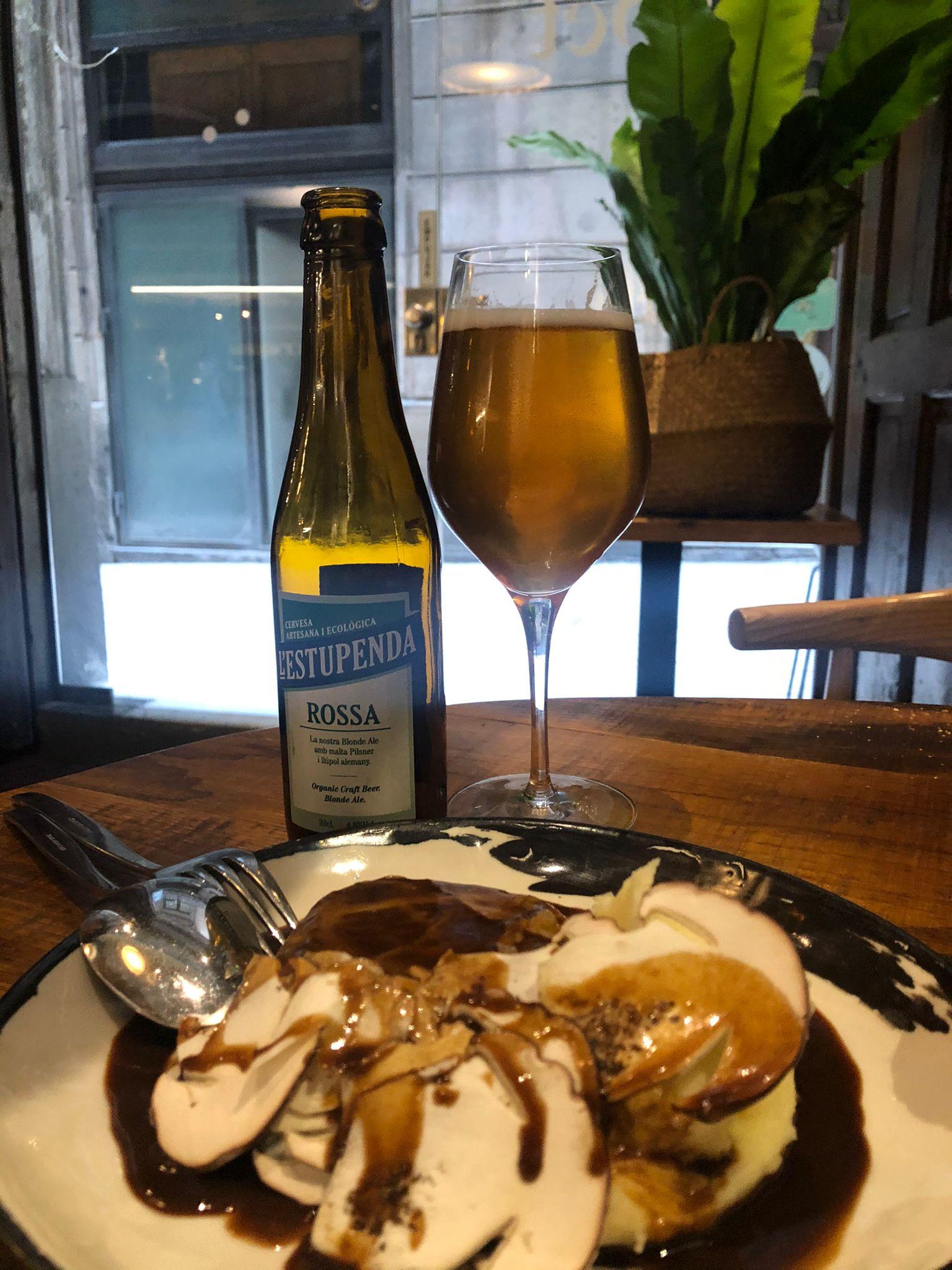 Cervesa Artesana Ecològica l'Estupenda al Capet2